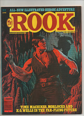 The Rook #3 - Painted Cover By Bob Larkin - 1980