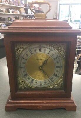 Howard Miller Electronic Quartz Chiming Mantle Clock 612-588 UNTESTED AS IS