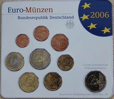 KMS Deutschland 2006 D, 5,88€, Stgl., in Blister