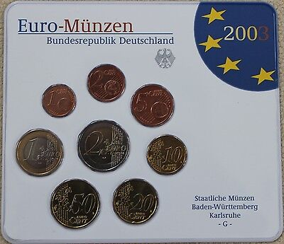 KMS Deutschland 2003 G, 3,88€, Stgl., in Blister