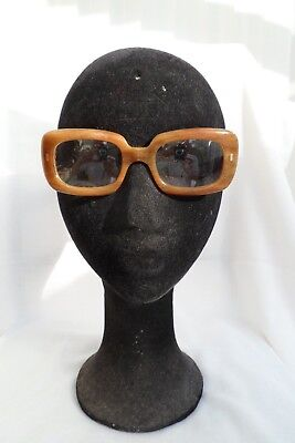 Original Vintage mod 1960s 1970s retro spectacles glasses frames