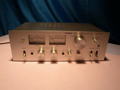 Fisher Ca-7700 Integrated Stereo Amplifier