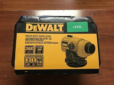 Dewalt  Heavy Duty Auto Level W/ Case - Automatic Optical Leveler Tool