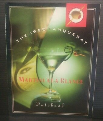 The 1990 Tanqueray Martini At A Glance Datebook Spy Supplement