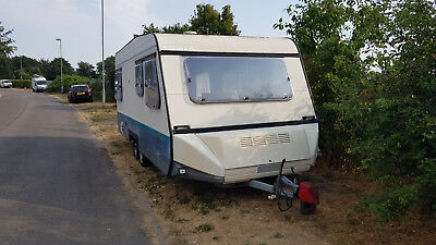 4 Berth Caravan Twin Axle