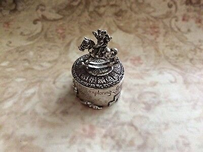 Silver Scenes Silver Plated Tooth Fairy Box