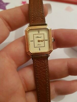 Vintage Art Deco Jean Louis Fresard Paris Watch Swiss 17 Jewels R. Muller...