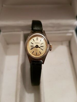 Vintage Art Deco Homar 17 Jewels Swiss Watch By Hafner Watch Co