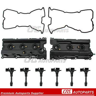 Fits 05-17 NISSAN Frontier Pathfinder Xterra Valve Cover + Gaskets Ignition Coil