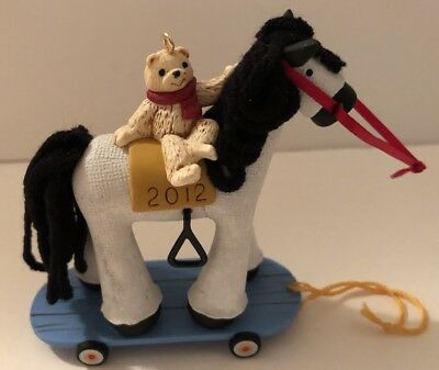 2012 Hallmark A Pony For Christmas Special Edition Limited Quantity Repaint New