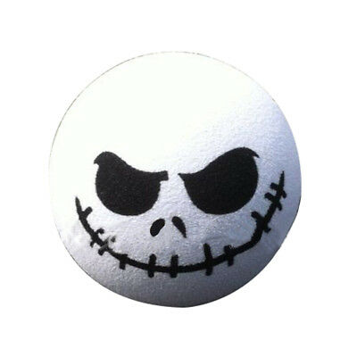 1 PC Halloween Skull Car Antenna Topper Aerial Ball Decoration Toy White