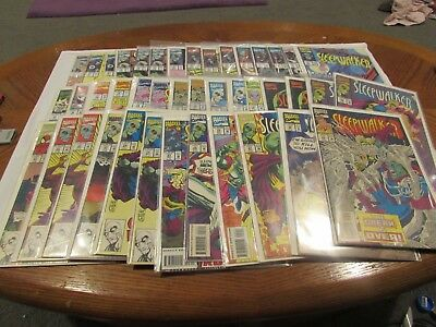 Sleepwalker Marvel Comic  Variation Lot You Pick  - Unread Vf Free Shipping @@!!