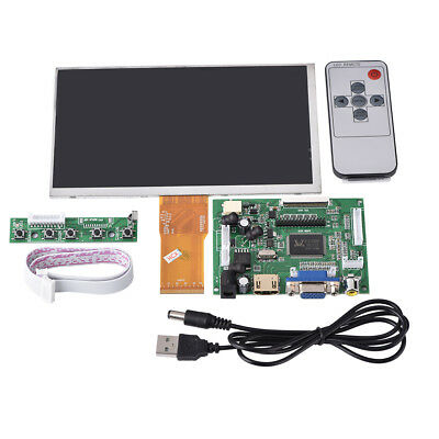 7 inch 1024*600 LCD Display for Raspberry Pi +HDMI+VGA+Driver Board