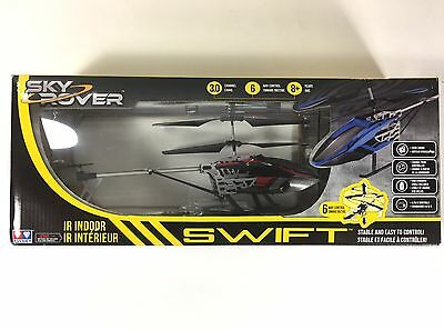 SKY ROVER RC Helicopter Swift (Red/Black)(Green/Black)