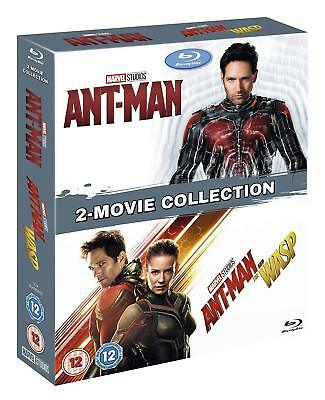 ANT-MAN 1+2 (2015+2018) + AND THE WASP: MARVEL Double NEW Reg Free BLU-RAY