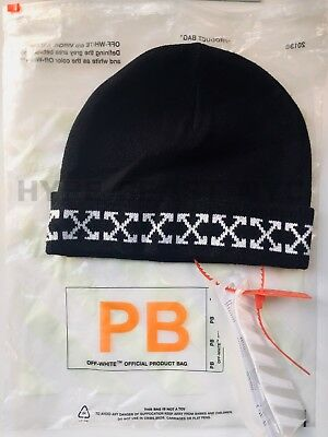 Off-White c/o Virgil Abloh - Arrows Beanie Off White Hypebeast OW Wool NYC Hype