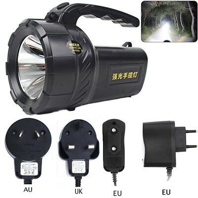 96000LM Super Bright Searchlight Portable Spotlight LED Rechargeable Flashlight