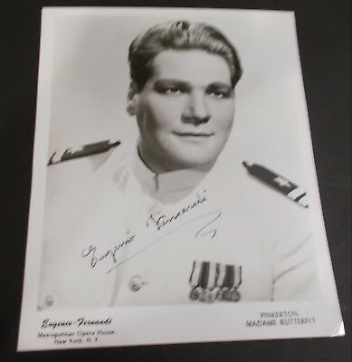 Eugenio Fernandi Hand Signed Photo...Italian Tenor