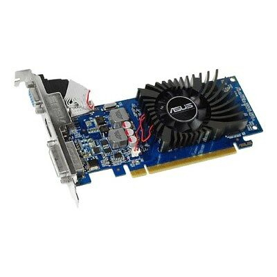 Asus GeForce 210 1GB DDR3 64bit Low Profile PCIe Grafikkarte HTPC (210-1GD3-L)