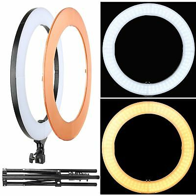 18'' LED Ring Light Dimmable 5500K Lighting Kit for Camera Phone Photography HOT