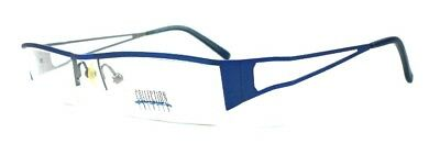 15x Brille Collection Creativ Brillengestell Mod. 679 Col 720 blau/silberfarbig