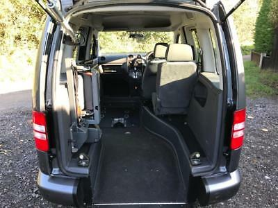 2012 Volkswagen Caddy Life 1.6 TDI 5dr DSG AUTOMATIC RIDE UPFRONT WHEELCHAIR ...