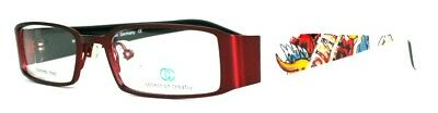 12x Brille Collection Creativ Brillengestell Mod 1352 Col 930R rot/weiß gem.