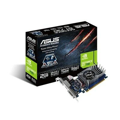 Asus GeForce GT 730 2GB GDDR5 64-bit Low Profile PCIe UEFI (GT730-2GD5-BRK)