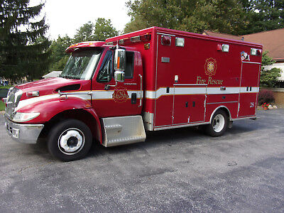 Absolute Auction, 2004 International Fire And Rescue Unit,137Kmi.