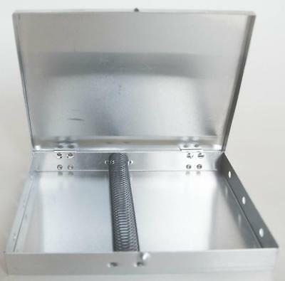 Andrew Mack BB-31 Aluminum Brush Box for Storing Pinstriping Brushes