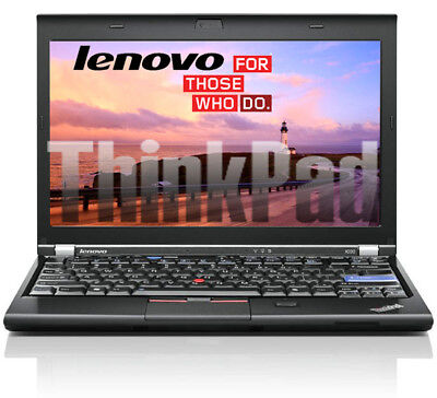 Lenovo Thinkpad X220 Intel Core i5 2,50 Ghz 4GB 320GB 12 zoll WEB CAM  B