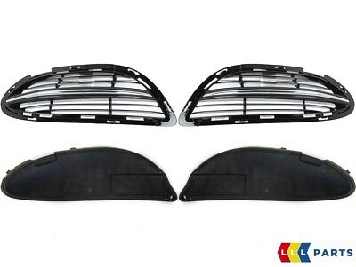 New Genuine Mercedes Benz S Class W222 Front Bumper Side Grille Set With Chrome