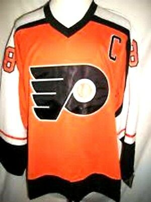 Orange CCM Replica 54 2x NWT Eric Lindros  Jersey Men's