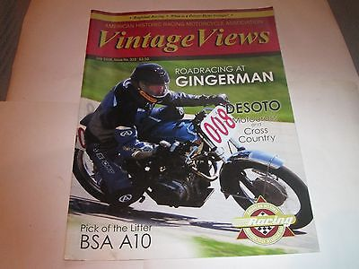Vintage Views July 2016 Issue 315  American Historic Motorcycle Racing Magazine