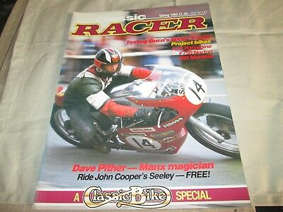 Classic Racer Magazine Spring 1985  Number 9 Dave Pither