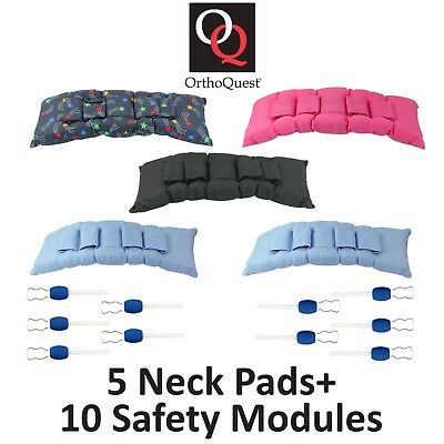 x5 Orthoquest Dental Orthodontic Headgear Cervical Neck Pads Safety Modules