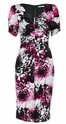 SS52 Ex Marks and Spencer Secret Slimming™ Underwired Printed Floral Swimsuit