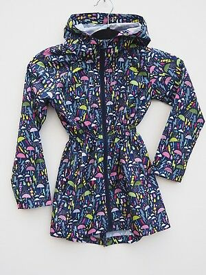 Fab NEW LOOK Girl's 'PARKA IN A POCKET' WP Cagoule / Raincoat age 7-8 years
