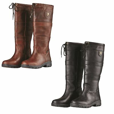 Dublin River Grain Boots waterproof & breathable country boots BLACK OR RED BROW