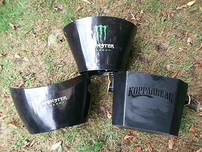 3 X Beer Bucket Ice Kopparberg Monster Energy Party BBQ Large Home Bar Drinks
