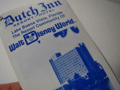 Vtg Dutch Inn Hotel Resort Walt Disney World Lake Buena Vista FL Pocket Calendar