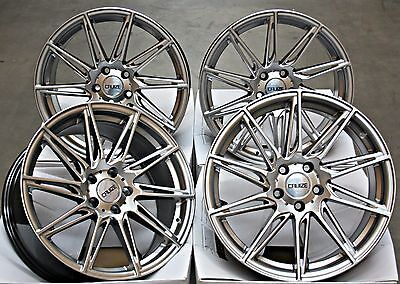 "18"" Alloy Wheels Cruize Turbine Fit For Ford Transit Connect Edge"