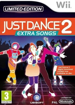 Nintendo Wii game - Just Dance 2: Extra Songs UK boxed