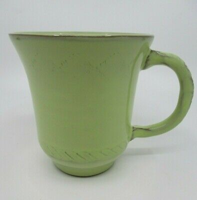 "VIETRI BELLEZZA CELADON (Green) MUG - 4 1/2"" x 4 "" NEW 0711G"
