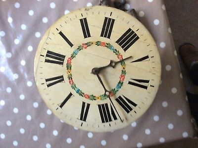 Black Forest Wooden Clock for restoration