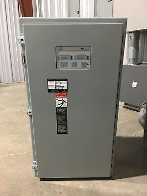 ASCO Automatic Transfer Switch 200 Amp ATS 208 Volt 3 phase NOS 300 Series