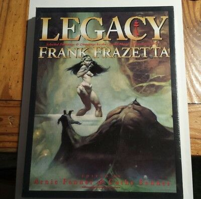 Frank Frazetta Legacy Hardcover HC w/ Slipcase Sealed OOP Comic Books ?/2500 New