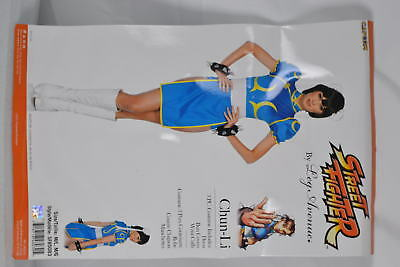Women's Leg Avenue  Chun Li Costume Blue/Yellow  Medium/Large