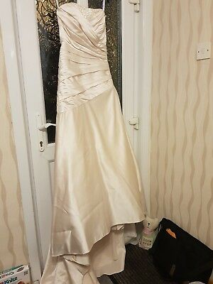 wedding dress size 10 used