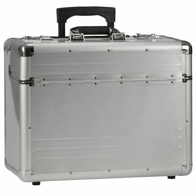 Pilotes Business Fichiers Chariot Aluminium Valise Omega Laptop Notebook Alumaxx